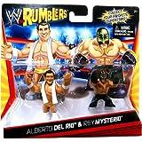 WWE Rumblers Mini Alberto Del Rio and Rey Mysterio 2-Pack