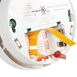 Kidde | Model i9040 Battery-Operated Ionization Sensor Compact Smoke Detector Alarm