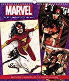 img - for Women of Marvel Wall Calendar (2017) book / textbook / text book