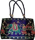 Czds India Women's Blue Handbag (BAG-35)