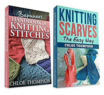 Knitting Stitches To Learn : Amazon.com: (2 BOOK BUNDLE)