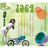 1964 Geburtstag Geschenken - 1964 Chart Hits CD und 1964 Geburtstagskarte