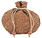 #9: Kleio Women's Potlis (Red and Gold)