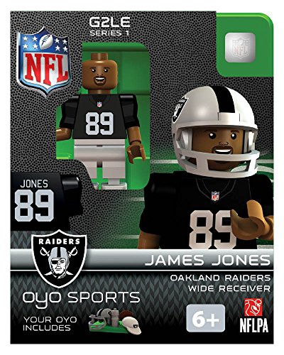 NFL Oakland Raiders NFL Generation 2 Series 1 Minifigure James Jones - 1