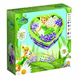 The Orb Factory Sticky Mosaics Disney Fairies Tinker Bell Heart Box