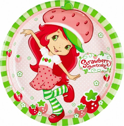 Imagen de Strawberry Shortcake de fiesta Platos Almuerzo 8CT