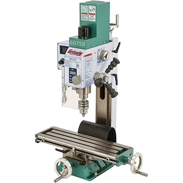 Grizzly Industrial G0758-6 x 20 3/4 HP Mill/Drill