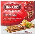 Finn Crisp Harvest Slims Rye 200 g (Pack of 9)