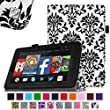 Fintie Fire HD 7 Tablet (2014 Oct Release) Case Slim Fit Leather Standing Protective Cover with Auto Sleep/Wake Feature (will only fit Fire HD 7 4th Generation 2014 model), Versailles