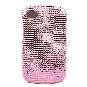 ivencase Hard Bling Skin Sparkle Case Cover for Blackberry Q10 Pink + One phone sticker