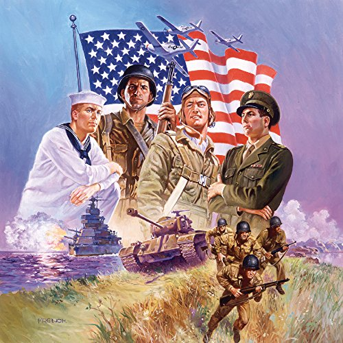 SunsOut The Armed Forces - America Puzzle - 500 Piece Jigsaw Puzzle