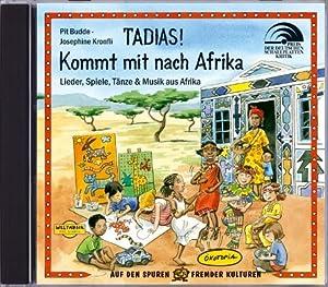 tadias kommt mit nach afrika cd lieder spiele t nze. Black Bedroom Furniture Sets. Home Design Ideas