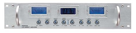 Audiobahn a500 q - 2 x 2 canaux classe a/b amplificateur mosfet power aMP