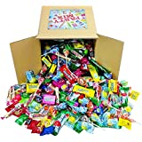 Assorted Candy Party Mix, 6x6x6 Bulk Box (Appx. 4 Lbs): Fire Balls, Airheads, Jawbusters, Laffy Taffys, Tootsie Rolls and Much More of Your Favorite Candy!