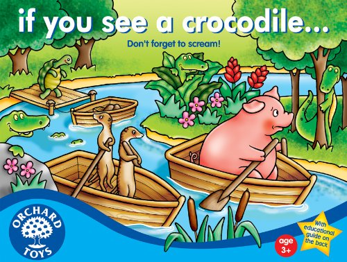 If You See a Crocodile game for preschoolers