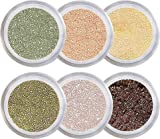Tea Party Mineral Eyeshadow Kit - 100% Pure All Natural Mineral Makeup - Not Bare Minerals, Bare Escentuals, Mineral Fusion, MAC