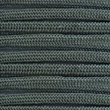 Paracord Planet Nylon 550lb Type III 7 Strand Paracord Made in the U.S.A. -Gunmetal Gray -