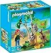 Playmobil - 4854 - Jeu de construction - Arbre � koalas et kangourous