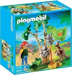 Playmobil 4854 - Zoo: koalas con canguro