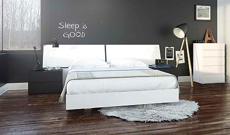5-Pc Eco-friendly Contemporary Bedroom Set