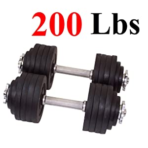 One Pair 200 Lbs 100lbsx2pc