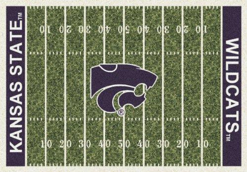 Kansas State Wildcats Milliken NCAA Home Field Area Rug (10'9