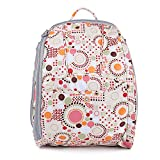 Orgrimmar Diaper Tote Bags Larger Capacity Baby Nappy Bag Fashion Mummy Backpack (Pink)