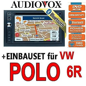 VW polo 6R audiovox vXE 6020 nAV navigationsradio uE autoradio navi dVD avec écran tFT bluetooth
