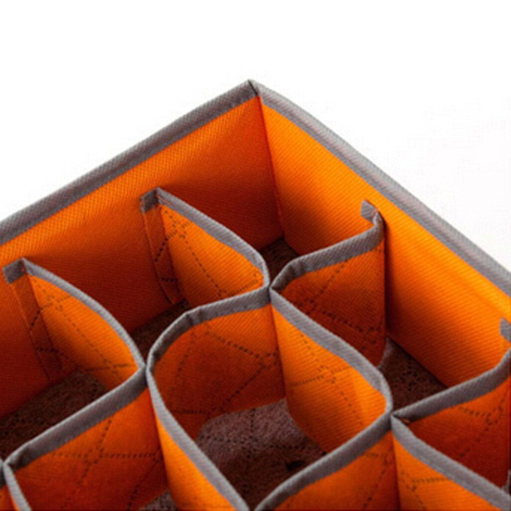 Packnbuy Orange 24partment Cell Foldable Storage Draweranizer:  Amazon: Home & Kitchen
