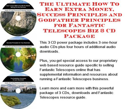The Best Earn More Money, Marketing And Inner Game For Fantastic Telescopes On-Line Businesses 3 Cd Power Pack