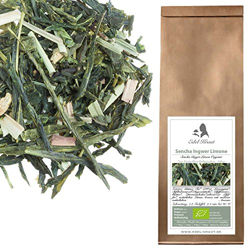 EDEL-KRAUT-BIO-Grner-Tee-Sencha-Ingwer-Limone-Premium-Green-Tea-Sencha-Ginger-Lemon-Organic-250g