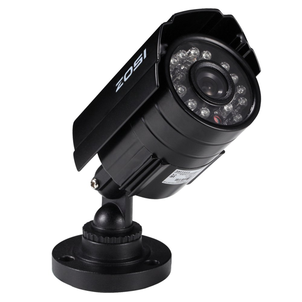 ZOSI HD 800TVL 24 IR-LEDs CCTV Camera Home Security Day/Night Waterproof Camera