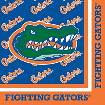 Buy Creative Converting Florida Gators Luncheon Napkins (20 Count) by Creative Converting
