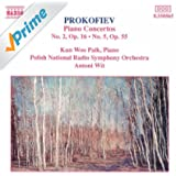 Prokofiev: Piano Concertos Nos. 2 and 5