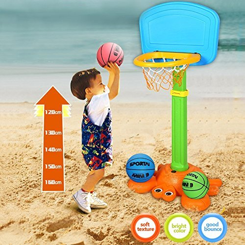Mini-Basketball-Water-Basketball-Kids-Indoor-Basketball-5-Inch-Diameter-Soft-and-Bouncy