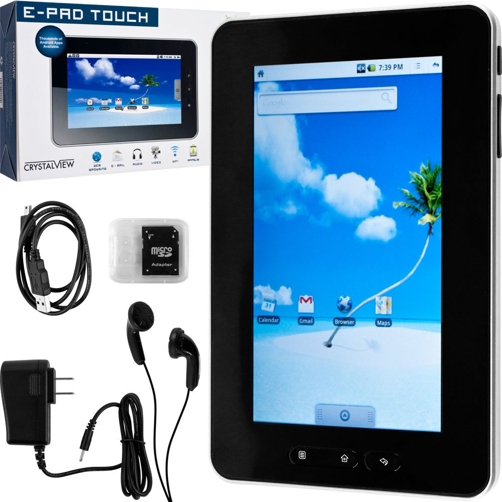 61hvj8tC5tL. AA1000  CrystalView E Pad Touch Review and Specification