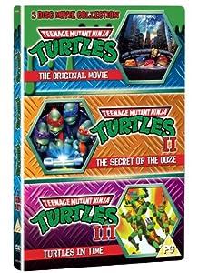 Teenage Mutant Ninja Turtles - The Movie Collection: 3DVD Set (Teenage Mutant Ninja Turtles/Secret Of The Ooze/Turtles In Time)