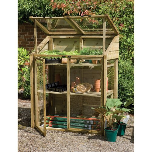 Versalite FSC Timber Mini Greenhouse (1.44 x 1.2 x .62m)