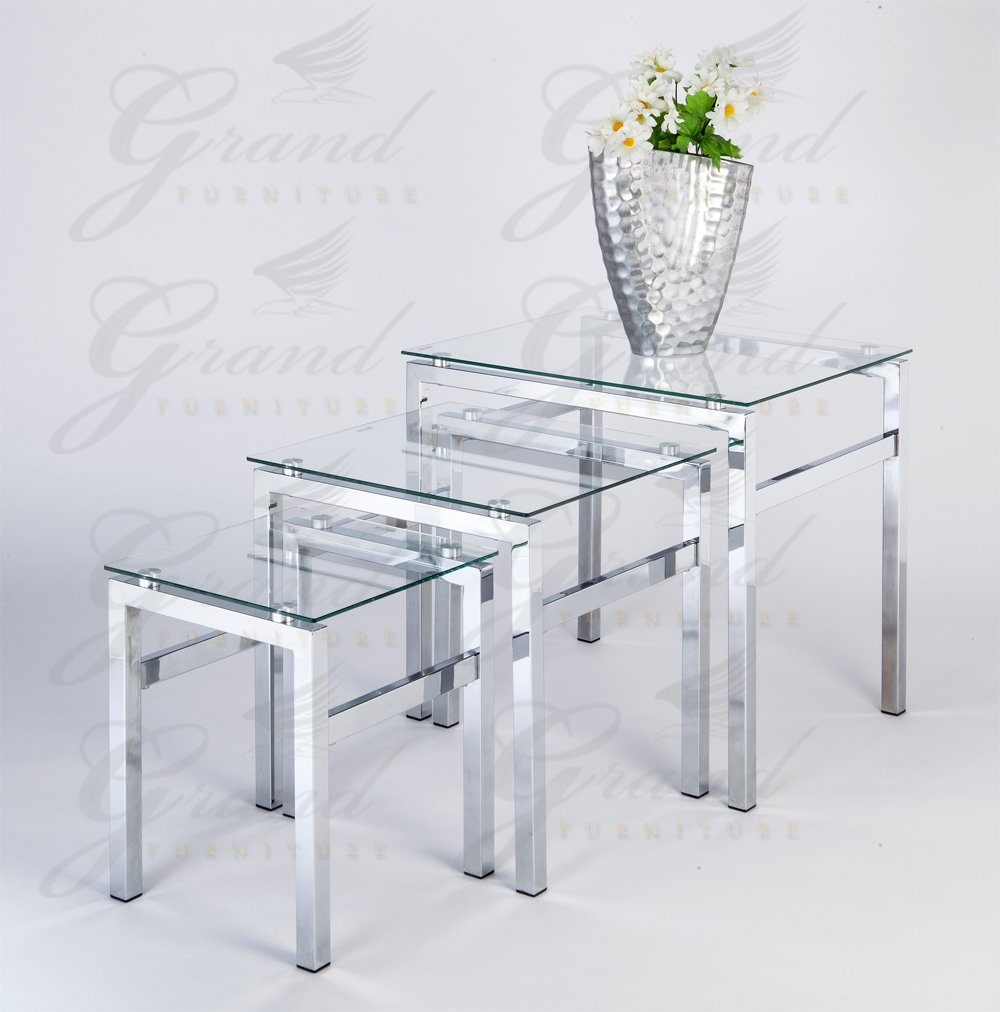 This is an impressive glass table, and doesn't cost too much.