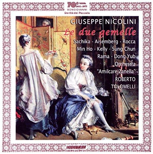 CD : NICOLINI / SACHIKA / AISEMBERG / HO / KELLY - Le Due Gemelle (2 Discos)