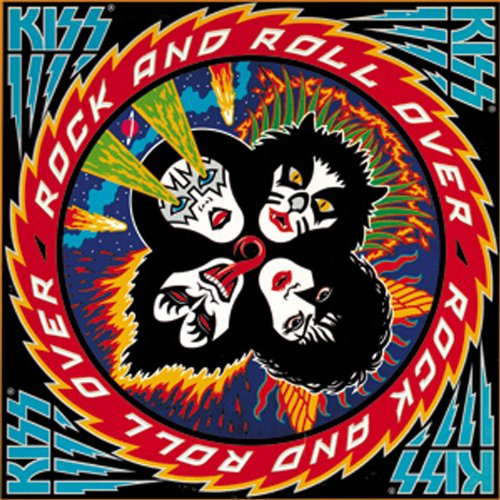 Licenses Products Kiss Rock N Roll Over Magnet - 1