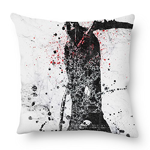 Beautfuldecor Home Decoration Strange Skull Pillowcase 16X16 Inch Throw Cushion Cover