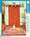 Dog Behind the Door 1000-Piece Puzzle