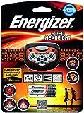 Energizer - Linterna de cabeza, color rojo/negro/gris