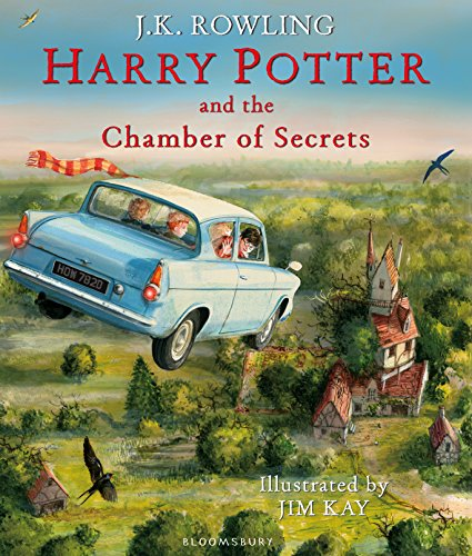 Harry Potter and the Chamber of Secrets: Illustrated Edition (Harry Potter Illustrated Editi)