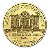 ウィーン金貨1オンス2016年 (37mmクリアーケース付き)