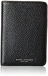 Marc Jacobs Gotham City Slgs Passport Cover ID Holder, Black, One Size