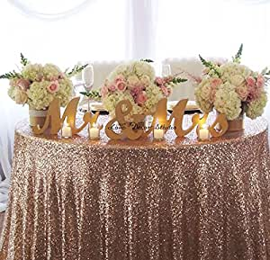 Gold mr mrs letters wedding table for Amazon wedding decorations