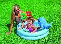 Intex Dolphin Baby Pool, Multi Color