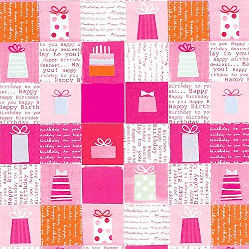 printed jumbo -pink presents
